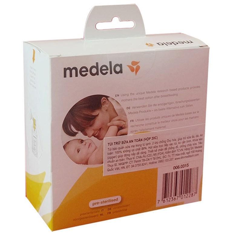 Túi trữ sữa an toàn Medela